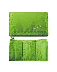 Basic Portafoglio da Uomo di Nike in Green da Uomo