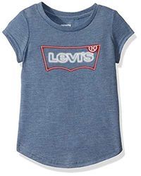 Apos;s Big T-Shirt en Velours Scroll Fille Levi's en coloris Blue