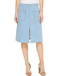 Splendid Blue Indigo Skirt
