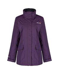 Regatta Purple Ladies Blanchet Jacket
