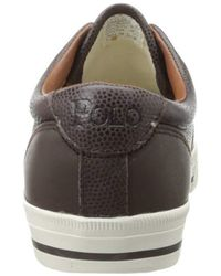 Polo Ralph Lauren - Brown Vaughn Saddle Fashion Sneaker for Men - Lyst