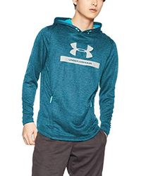 Mk1 Terry Graphic Hoodie Felpa di Under Armour in Blue da Uomo