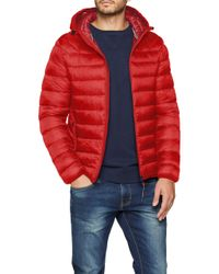 , Aerons Hood, Blouson ,Rouge Napapijri pour homme en coloris Red