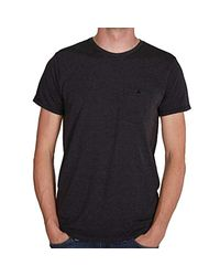 Oakley Black Icon Pocket T-shirt With Icon On Breast Pocket for men