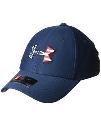 Freedom Blitzing cap Cappello di Under Armour in Blue da Uomo