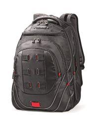 """Samsonite Tectonic 17"""""""" Pft Backpack Black/red for men"""