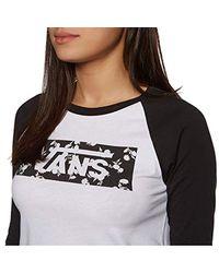 Vans Sundaze Tangle W Longsleeve White/black