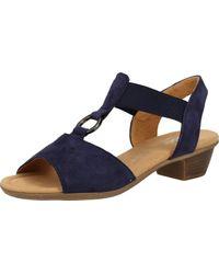 Gabor Comfort 42.474 Sandale Größe 40 EU Blau (Bluette)