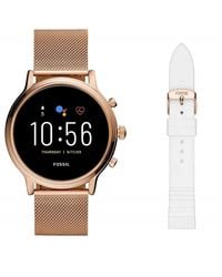Orologio Touchscreen Smartwatch Gen 5 Julianna HR Wear OS by Google di Fossil in Multicolor