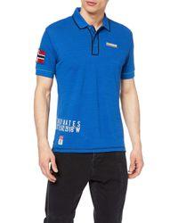 Napapijri Blue Elize Polo Shirt for men