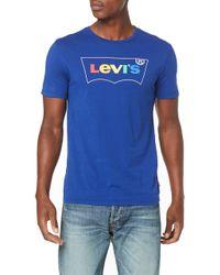 S SS Graphic 2.0 T-Shirt Levi's pour homme en coloris Blue