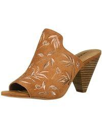 Lucky Brand Brown Emree Heeled Sandal