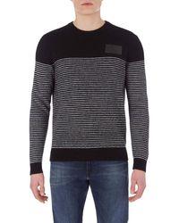 Maglia Uomo MOD. J30J316582 Nero S di Calvin Klein in Black da Uomo