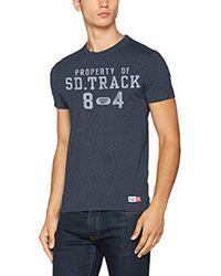 T-Shirt Homme Superdry pour homme en coloris Blue