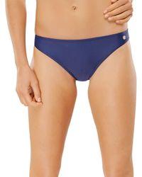 Schiesser Blue Bikini-Slip Bikinihose