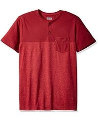 Levi's - Red Jenner 2 Speckled Snow Yarn Jersey Short Sleeve Shirt for Men - Lyst