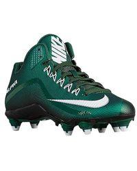 Nike Alpha Pro 2 3/4 Td FuÃ?ball-BÃ1⁄4gel (7, WeiÃ? / Grau) in Green für Herren