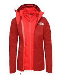 Giacca Doppia da Donna con Cerniera Rosso Cardinal - Juicy Red di The North Face