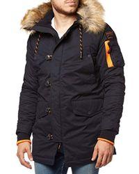 Superdry Blue Sd-3 Parka Sports Jacket for men