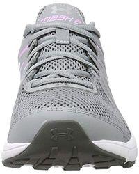 Under Armour Gray Dash 2 Running Shoe