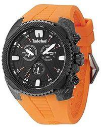 montre timberland homme orange