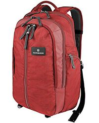 Victorinox Red Altmont 3.0 Vertical-zip Laptop Backpack for men