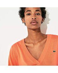 Lacoste Orange Sport - Sweater
