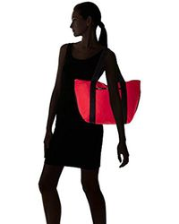 LeSportsac Red Travel On The Go Tote