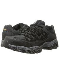 Skechers For Work Cankton-u Industrial Shoe,black,9.5 2e Us for men