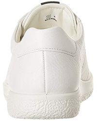Soft 1, Sneakers Basses Ecco pour homme en coloris White