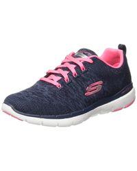 Skechers Blue Flex Appeal 2.0 Multisport Outdoor Shoes