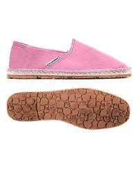 Superga Pink Espadrilles 4524-cotu Around The World Unisex