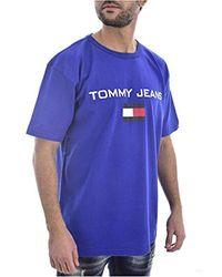 Iche Corte DM0DM05234 Logo di Tommy Hilfiger in Blue da Uomo