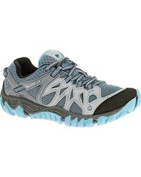 Merrell Blue All Out Blaze Aero Sport Low Rise Hiking Boots