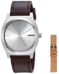 "Nixon Multicolor "" S Watch Time Teller Analog"