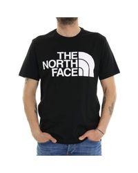 Standard SS Tee T-Shirt The North Face pour homme en coloris Black