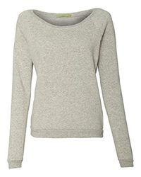 Alternative Apparel Gray Maniac Eco-fleece Sweatshirt