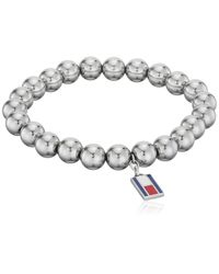 Jewelry Acier Bracelets extensibles - 2700501 Tommy Hilfiger en coloris Metallic
