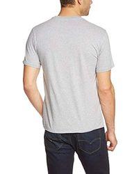 Levi's T-Shirt Graphic Set-In Neck in Gray für Herren