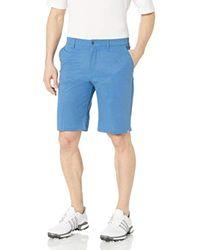 Adidas Blue Ultimate365 Modern Herringbone Shorts for men