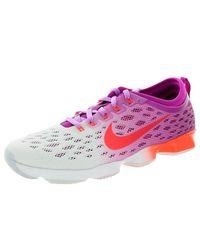 Nike White Zoom Fit Beweglichkeit FCHS Flsh / ht Lv / FCHS GLW / weiÃ? Trainingsschuh 6.5 Us