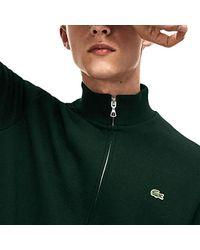 Lacoste Sweatshirt in Green für Herren
