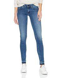 Donna Low Rise Sophie Jeans skinny Blu (Dynamic Cora Mid Blue Stretch 911) W30/L34 di Tommy Hilfiger