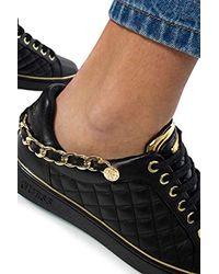 Luxury Fashion Donna FL7BRSELE12BLACK Nero Sneakers | Autunno Inverno 19 di Guess