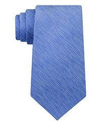 Kenneth Cole Reaction - Blue Double Texture Solid Tie for Men - Lyst