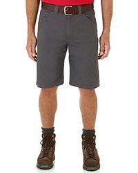 Wrangler Gray Rugged Wear Big & Tall Relaxed-fit Short for men