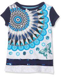 TS_Phoenix Camiseta Desigual de hombre de color Blue