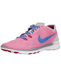 Free 5.0 TR Fit 5, Running Entrainement Adulte Mixte Nike en coloris Pink