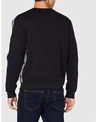 Man Light Sweater Felpa Uomo di Versace Jeans in Black da Uomo