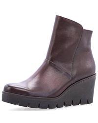 Gabor Brown Schuhe 73.784.25 Stiefeletten